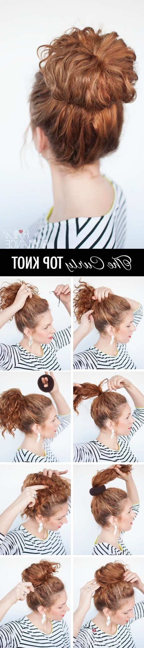 Wedding Hairstyle Tutorialhair Romance – Modwedding With Regard To Famous Knot Wedding Hairstyles (View 13 of 15)