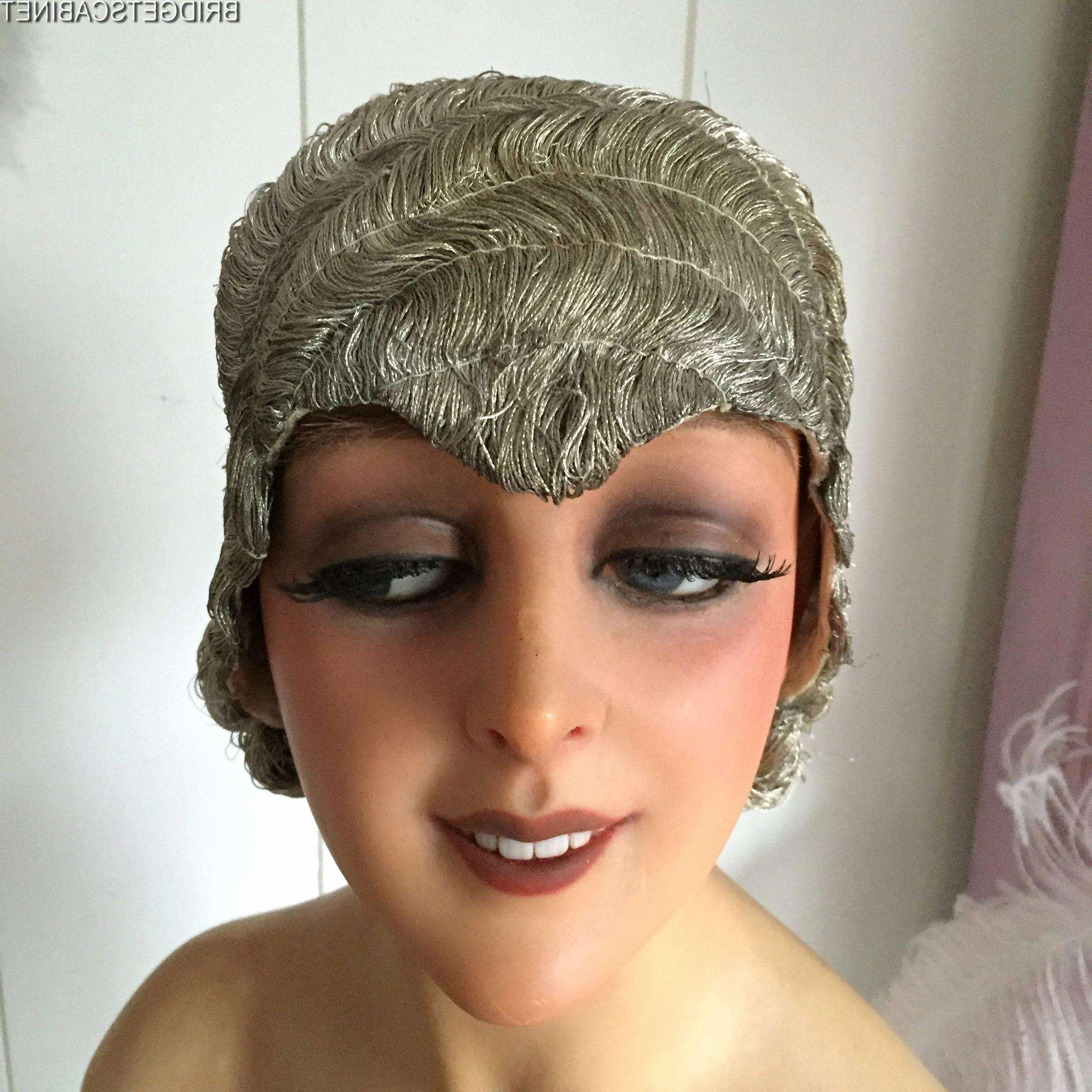 Wedding Hairstyles 1920S Era New 1920 Silver Metal Bullion Flapper In Most Popular 1920S Era Wedding Hairstyles (View 14 of 15)