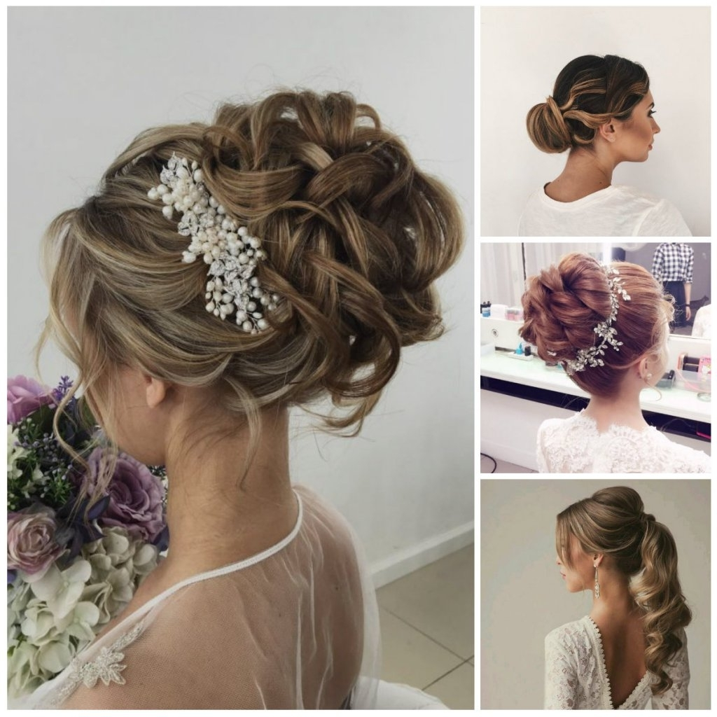 Wedding Hairstyles 2018 New Haircuts And Hair Colors 50Th Regarding Most Recent Hairstyles For Long Hair For A Wedding Party (View 13 of 15)