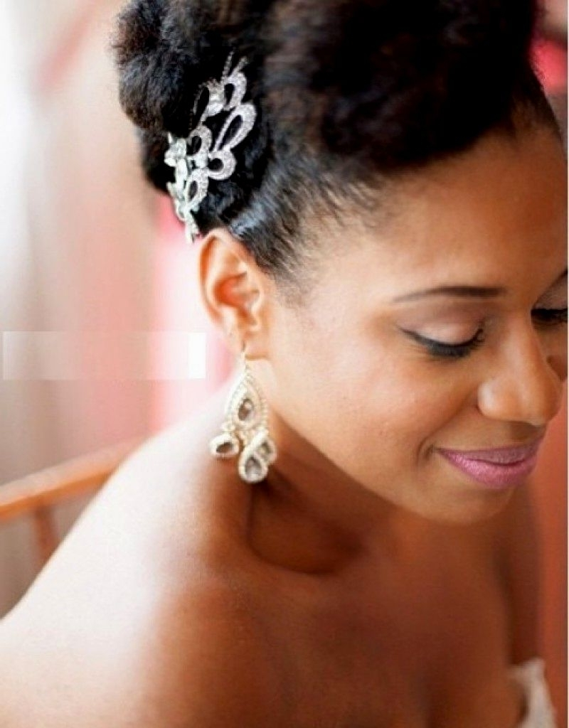 Wedding Hairstyles Black Woman (View 12 of 15)