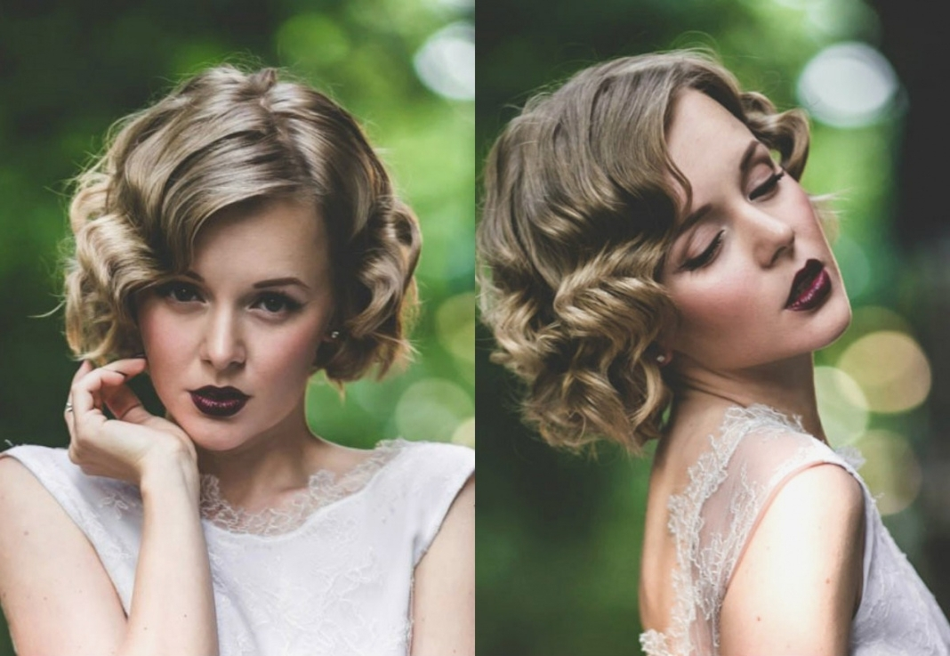 Wedding Hairstyles : Bob Hairstyles For A Wedding Image On Diy Intended For 2018 Bob Wedding Hairstyles (View 5 of 15)