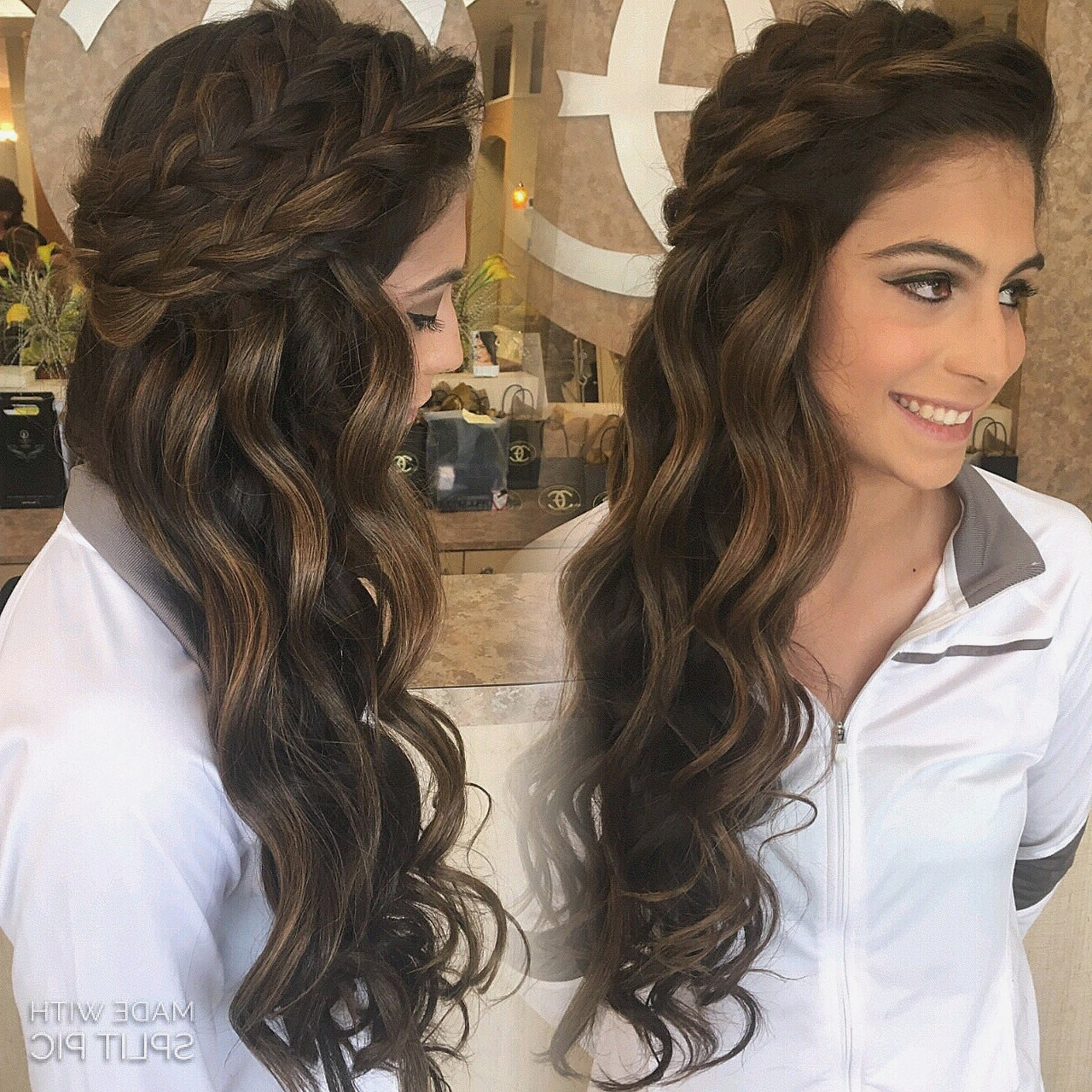 Wedding Hairstyles : Creative Curls To One Side Wedding Hairstyles With Well Known Curls To The Side Wedding Hairstyles (View 15 of 15)