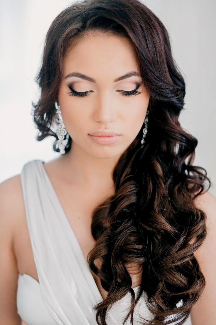 Wedding Hairstyles Dark Hair (View 14 of 15)