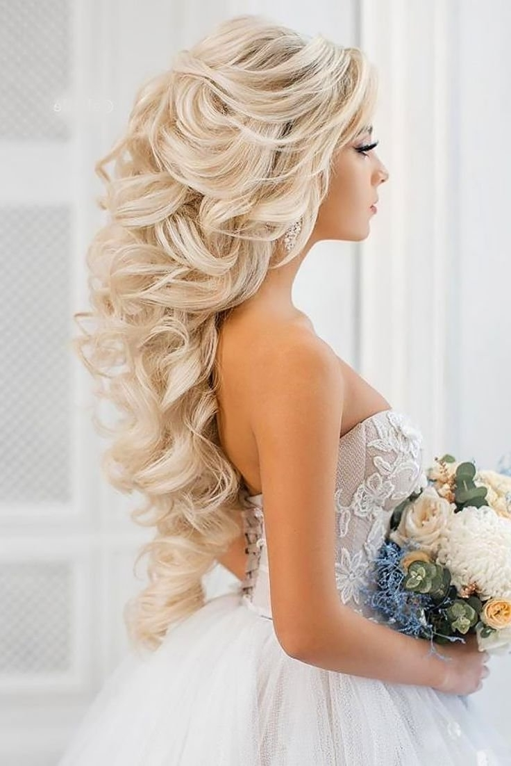 Wedding Hairstyles Easy For Weddings Hairdos 50Th Anniversary Cakes With Regard To 2018 Wedding Hairstyles (Gallery 11 of 15)
