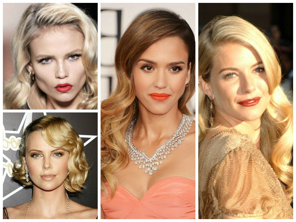 Wedding Hairstyles For A Round Face Shape – Hair World Magazine Throughout Popular Wedding Hairstyles For Round Face With Medium Length Hair (View 11 of 15)