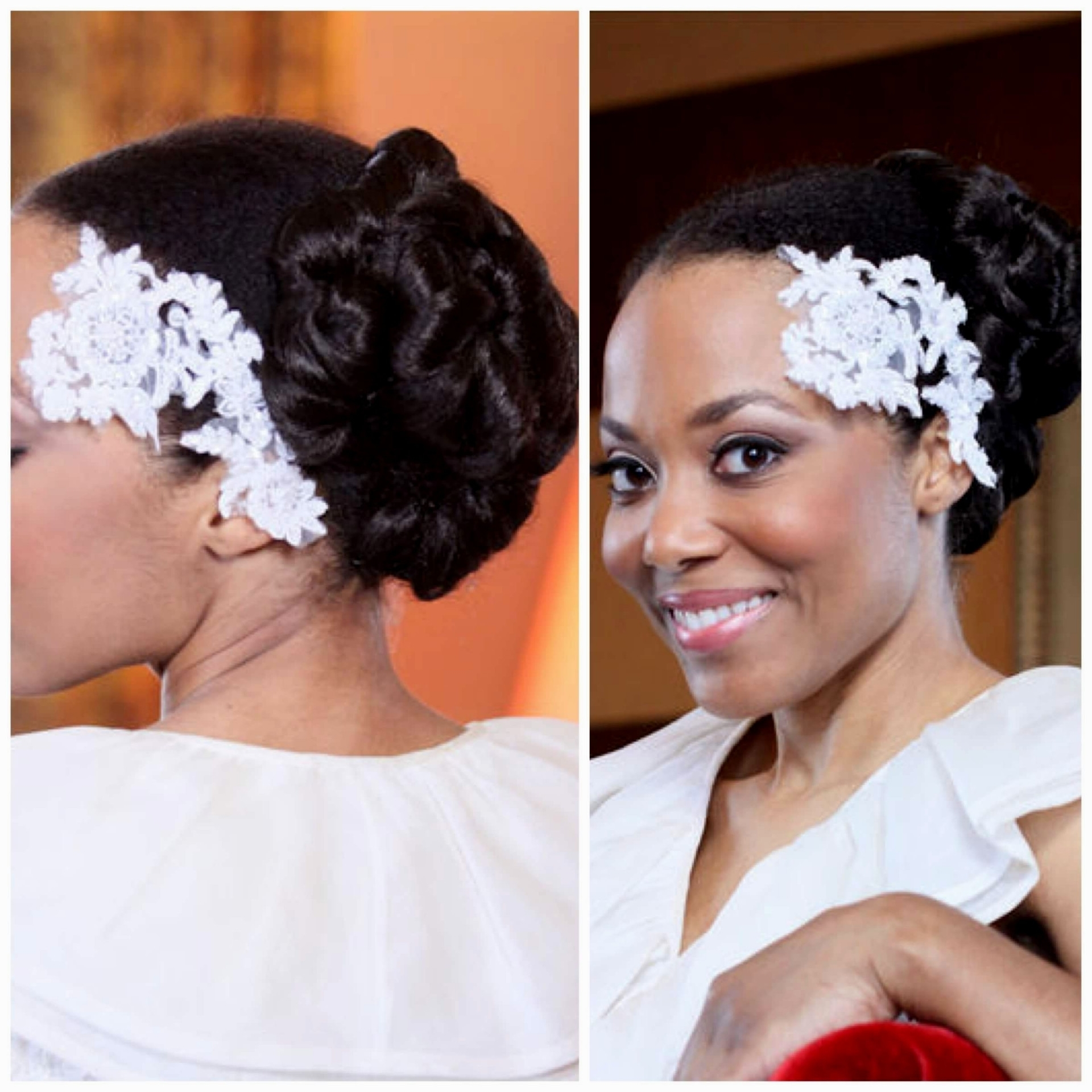 Wedding Hairstyles For African American Bridesmaids With Short Best Pertaining To Well Known Wedding Hairstyles For African American Bridesmaids (View 10 of 15)