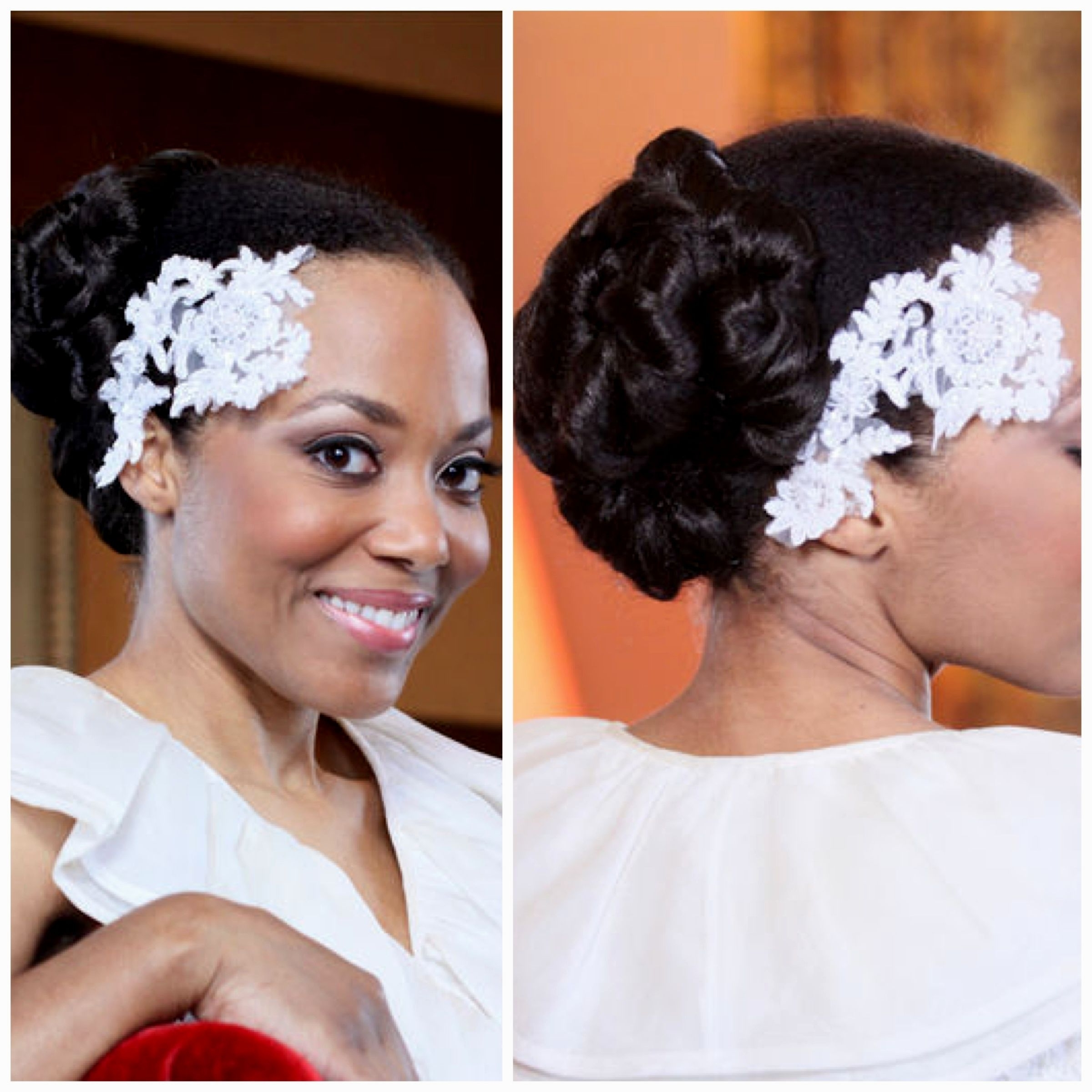 Wedding Hairstyles For Black Short Hair – Hairstyle Pop Throughout Well Liked Ebony Wedding Hairstyles (View 14 of 15)