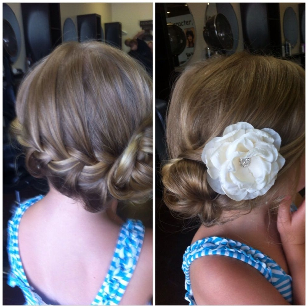 Wedding Hairstyles For Little Girls Best Photos (View 13 of 15)