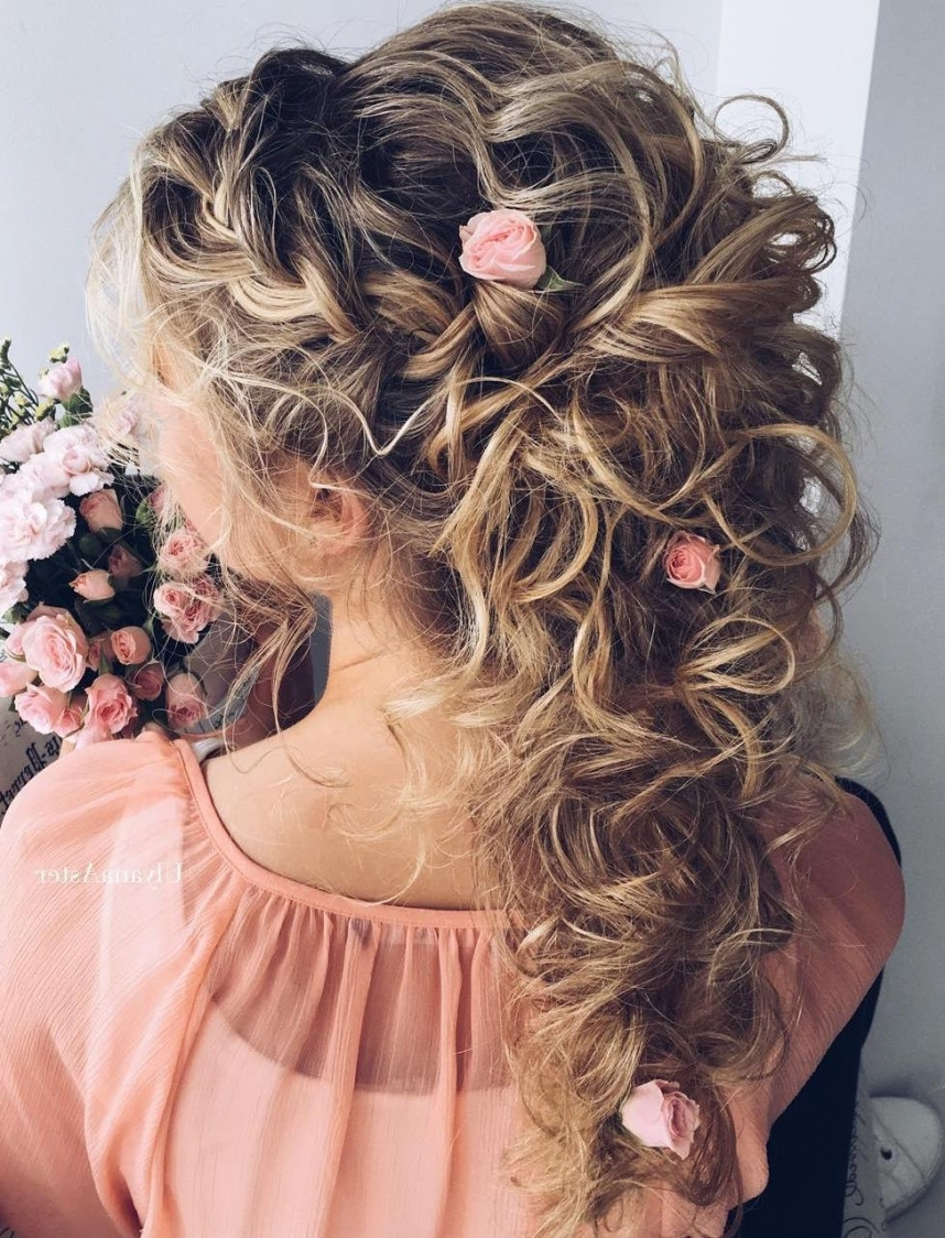 Wedding Hairstyles For Long Curly Hair Updos – Hair Styles (View 14 of 15)