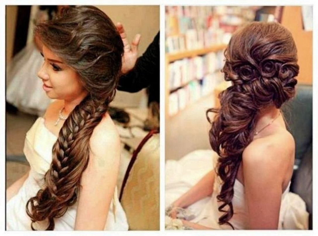 Wedding Hairstyles For Long Hair Braids – Girly Hairstyle Inside Well Liked Wedding Hairstyles For Long Hair With Braids (View 12 of 15)