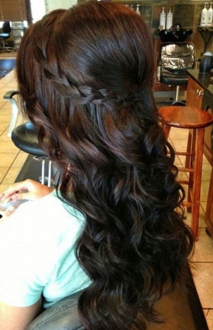 Wedding Hairstyles For Long Hair Bridesmaid (5) (Exceptional Wedding With Regard To Fashionable Long Wedding Hairstyles For Bridesmaids (View 14 of 15)