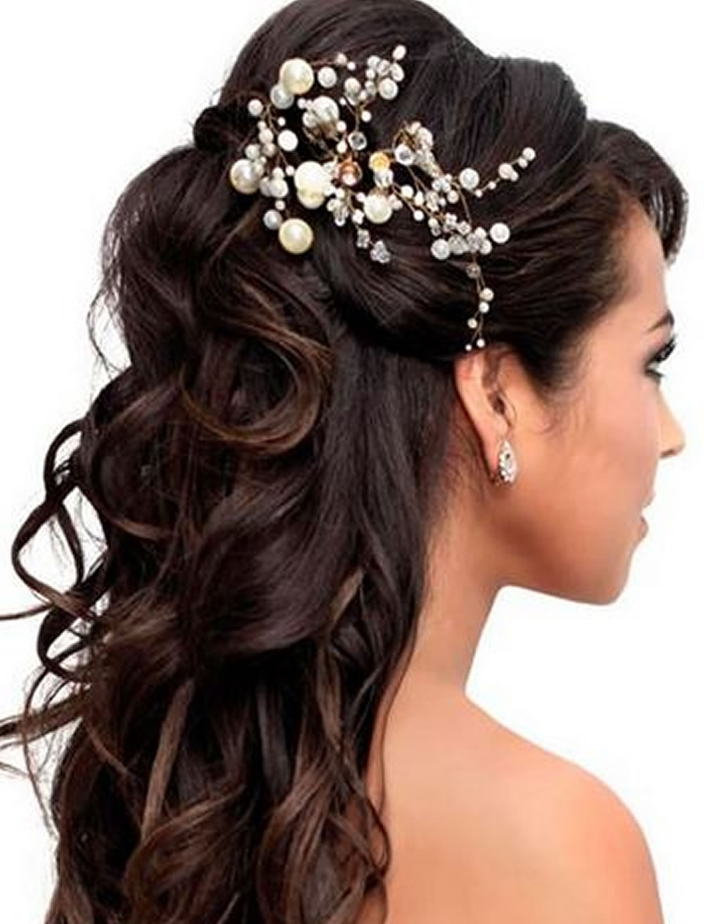 Wedding Hairstyles For Long Hair Summer 2018 2019 – Hairzstyle Regarding Most Current Summer Wedding Hairstyles For Long Hair (View 14 of 15)