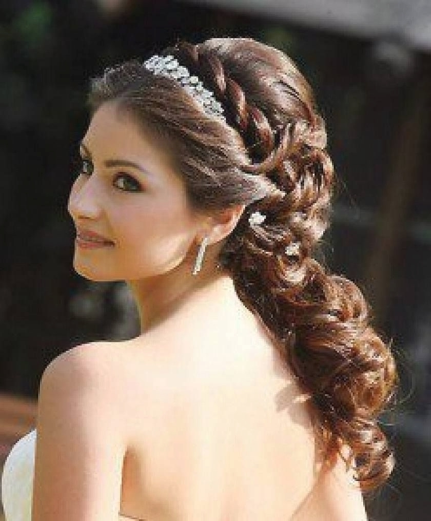 Wedding Hairstyles For Long Hair With Headband (View 14 of 15)