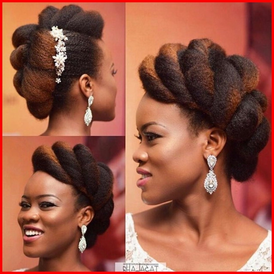 Wedding Hairstyles For Natural Black Hair 32640 Bridal Hairstyles Regarding Latest Wedding Hairstyles For Long Black Hair (View 14 of 15)