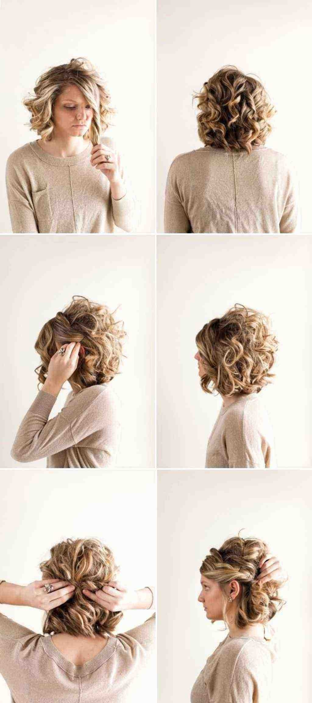 Wedding Hairstyles For Short Hair Bob Unique Curly Hairstyles Updos With Regard To Newest Wedding Hairstyles For Short Bob Hair (View 14 of 15)