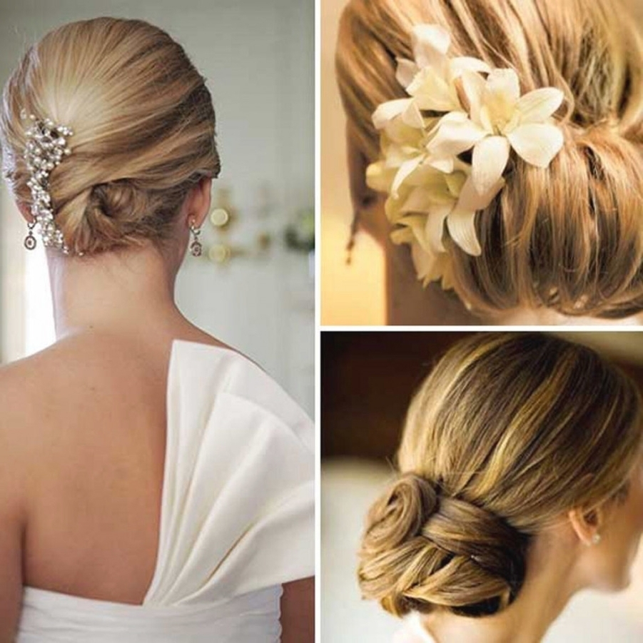 Wedding Hairstyles For With Most Current Wedding Hairstyles For Very Thin Hair (View 4 of 15)