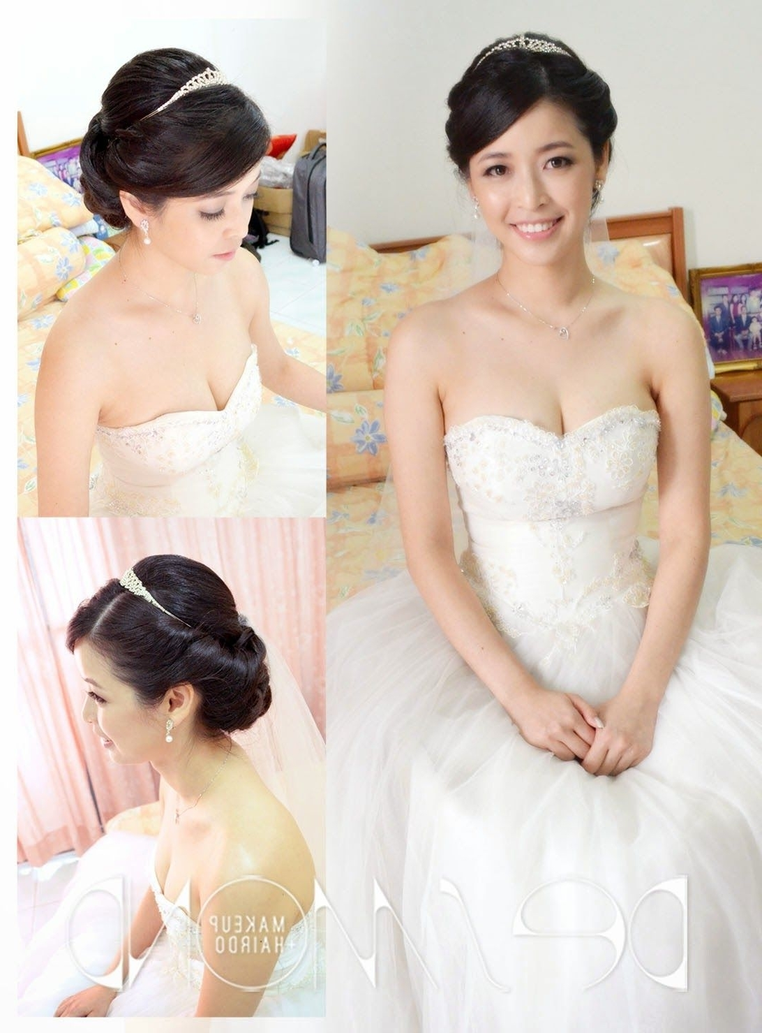 Wedding Hairstyles In Trendy Korean Wedding Hairstyles For Long Hair (View 12 of 15)