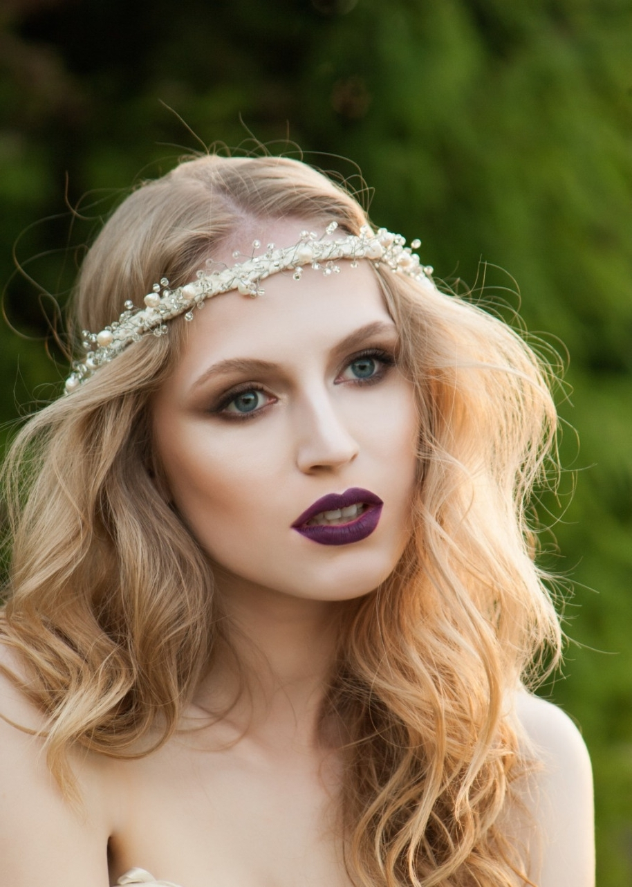 Wedding Hairstyles To Match Your Dress – The Lifestyle Library Within 2018 Wedding Hairstyles To Match Your Dress (View 15 of 15)