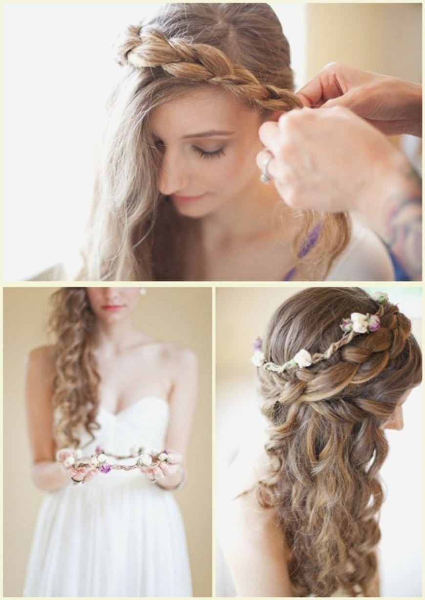Wedding Hairstyles Top Thin Hair Ideas Under 50Th Anniversary Cakes For Most Recent Wedding Hairstyles For Thin Mid Length Hair (View 14 of 15)