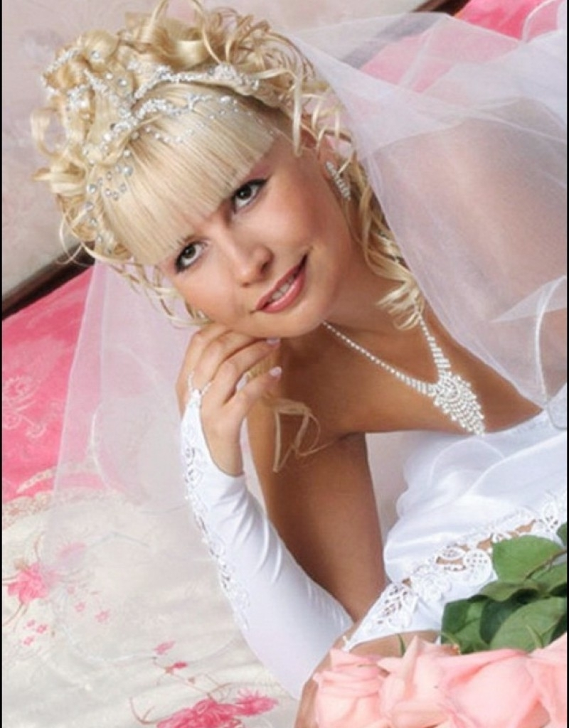 Wedding Hairstyles With Tiara & Veil – Hollywood Official Intended For Recent Wedding Hairstyles With Tiara And Veil (View 8 of 15)