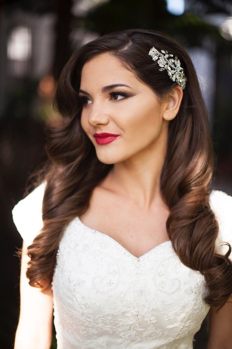 Wedding In Favorite Old Hollywood Wedding Hairstyles (View 2 of 15)