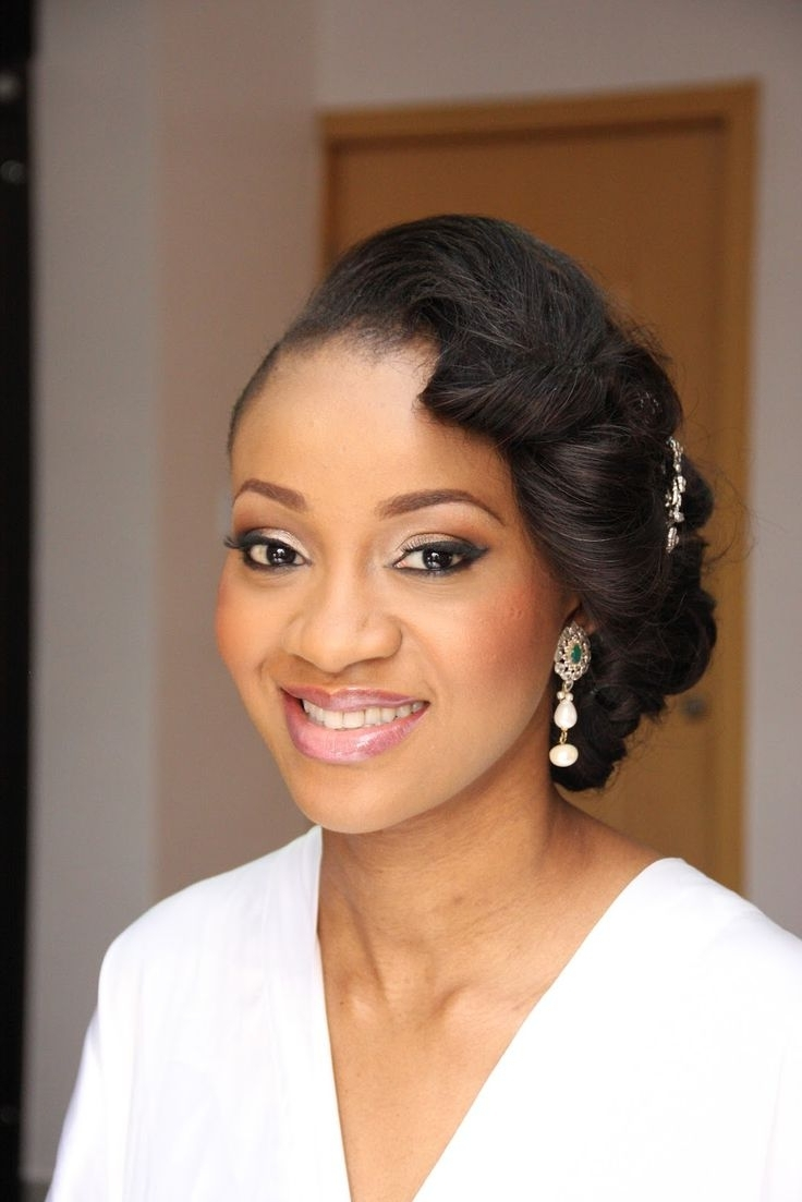 Wedding Intended For Trendy Wedding Hairstyles For African American Bridesmaids (View 15 of 15)