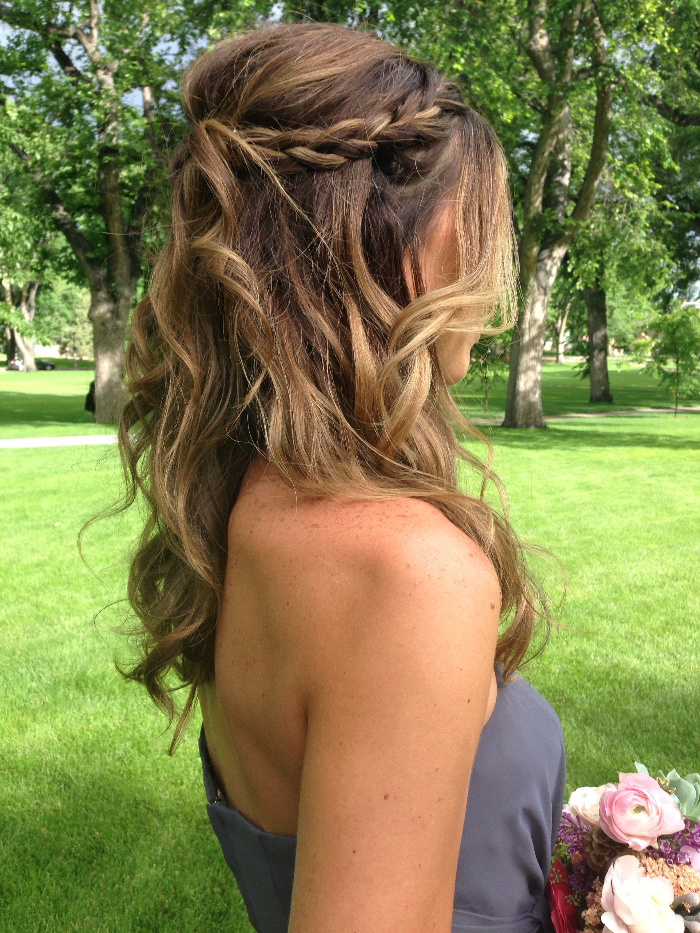 Wedding, Prom And Regarding Recent Summer Wedding Hairstyles For Bridesmaids (View 7 of 15)