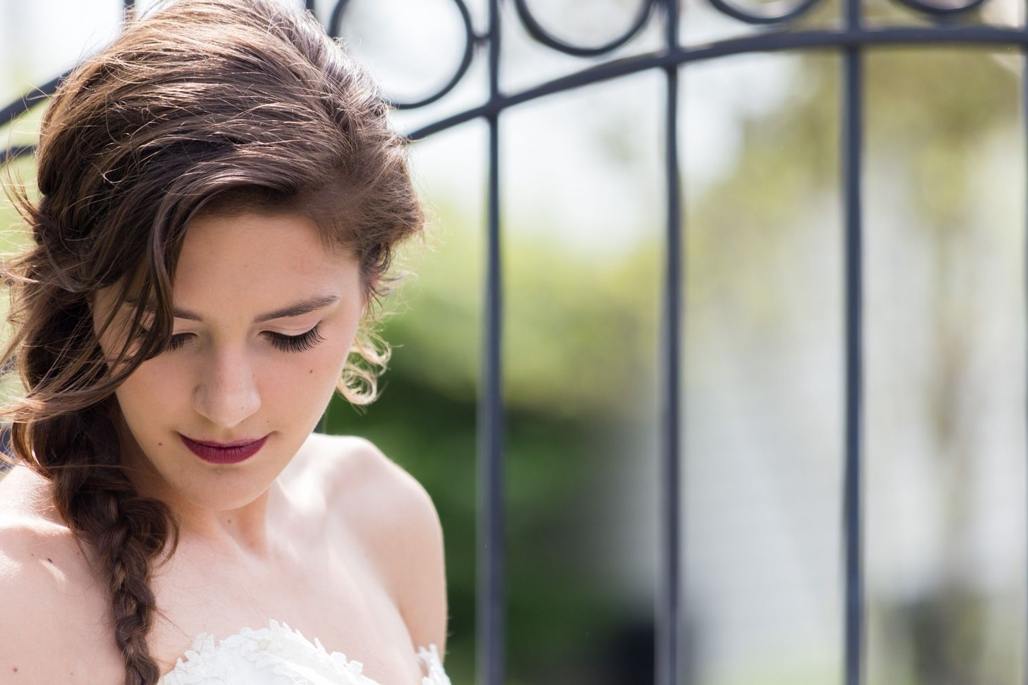 Wedding Side Braids, Loose Side With Trendy Side Braid Wedding Hairstyles (View 14 of 15)