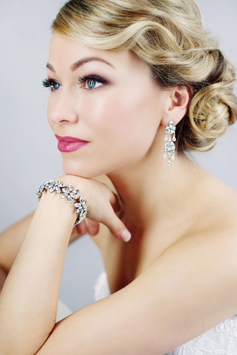 Wedding With Regard To Well Known Old Hollywood Wedding Hairstyles (View 3 of 15)