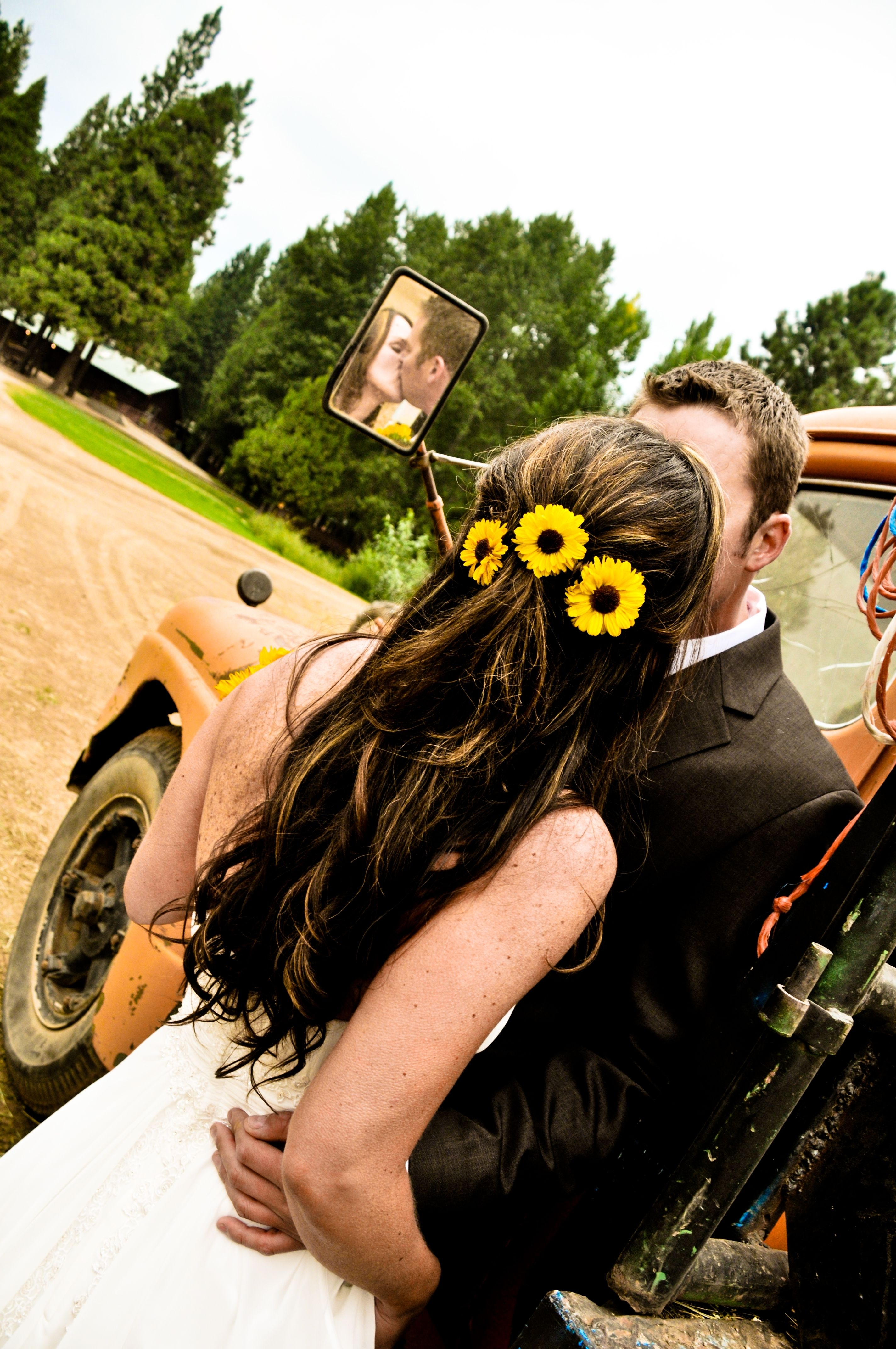 Weddings Pertaining To Famous Wedding Hairstyles With Sunflowers (View 5 of 15)