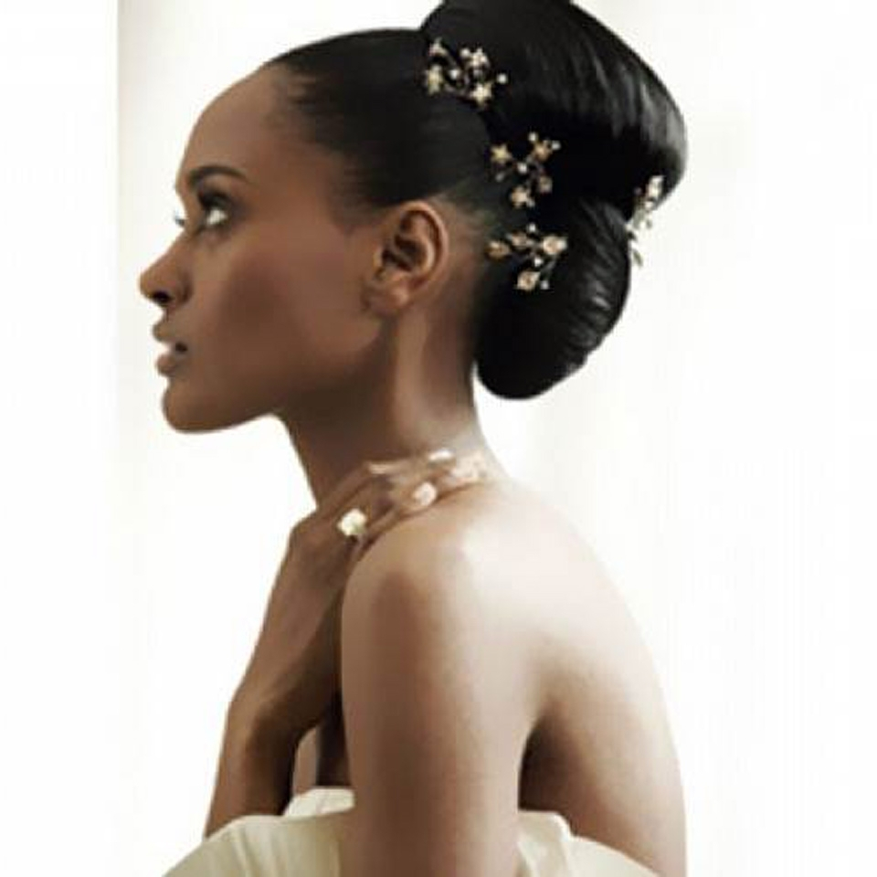 Well Known African American Wedding Hairstyles For Medium Length Hair Inside Black Wedding Hairstyles For Long Hair – Inofashionstyle (View 10 of 15)