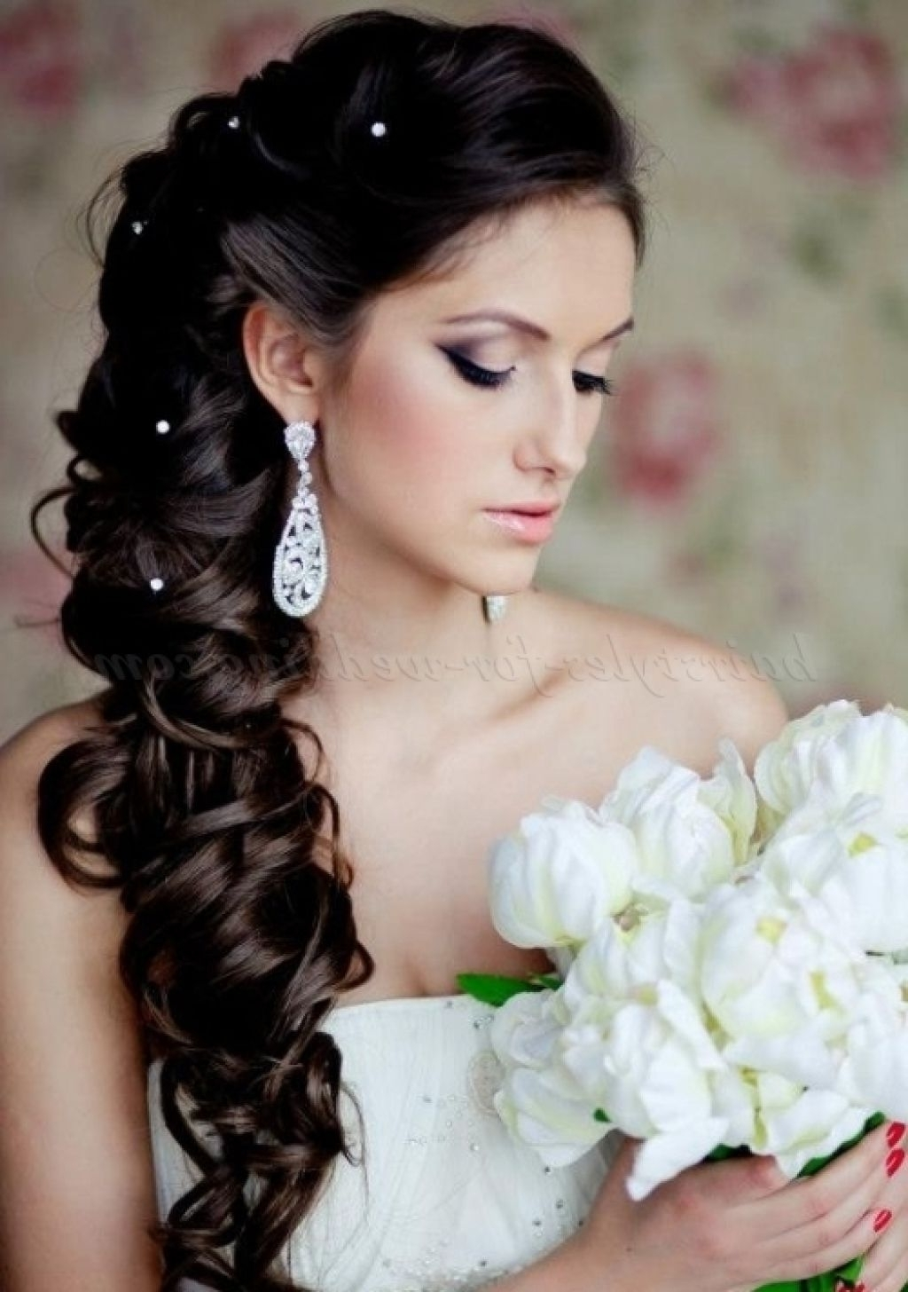 Well Known Asian Wedding Hairstyles Throughout Marvelous Asian Wedding For Long Hair Hairstyle Bridal Popular And (View 2 of 15)