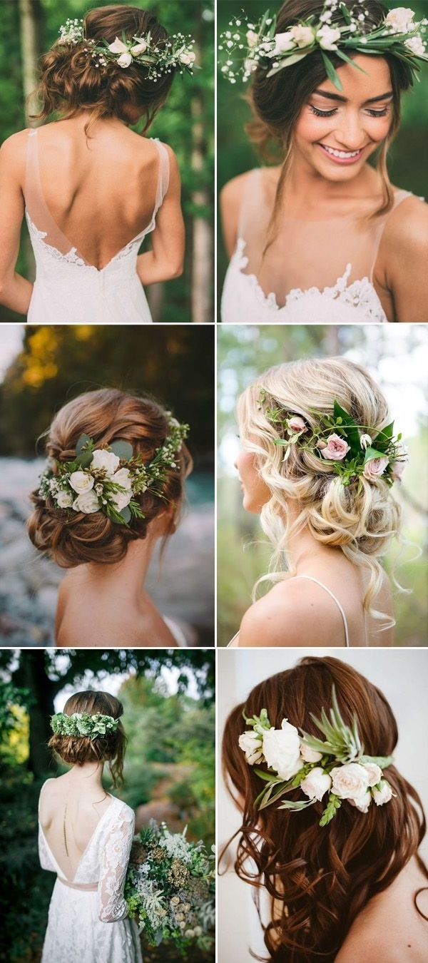 Well Known Bohemian Wedding Hairstyles For Short Hair For 163 Best Wedding Hairstyles That Will Drop Jaws Images On Pinterest (View 14 of 15)