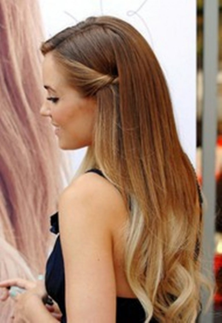 Well Known Easy Wedding Hairstyles For Long Straight Hair In Cool Easy Hairstyle For Long Straight Hair Cute Easy Updos (View 5 of 15)