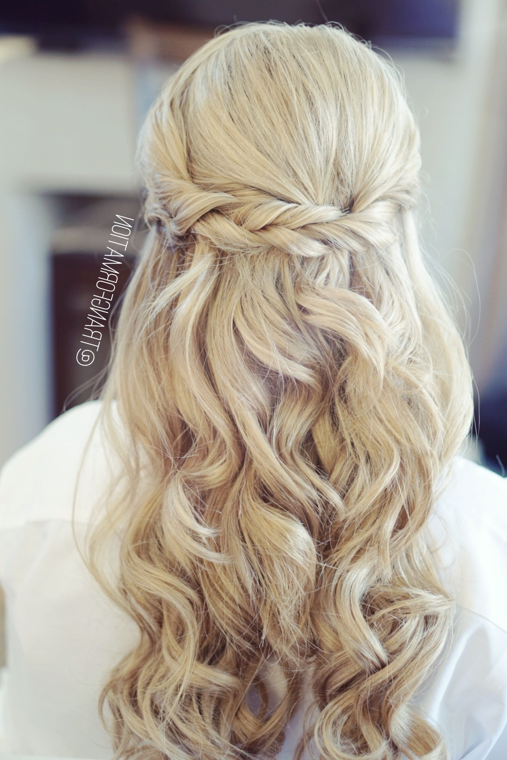 Well Known Hair Up Wedding Hairstyles For Half Up Half Down, Bridal Hair, Wedding Hair, Bride, Wedding (View 14 of 15)