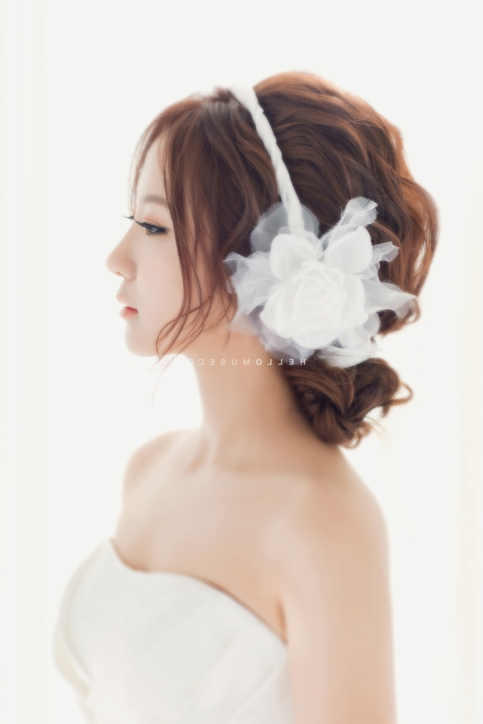 Well Known Korean Wedding Hairstyles For Long Hair Pertaining To Wedding Hairstyles Amazing Korean Hairstyle Ideas At 50Th (View 14 of 15)