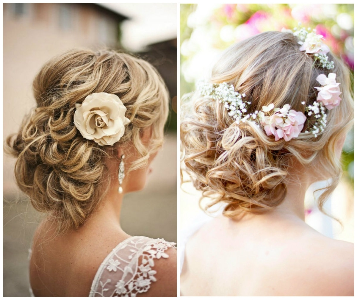 Well Known Messy Wedding Hairstyles For Long Hair For 2 Messy Bridal Updos – Hairzstyle : Hairzstyle (View 4 of 15)