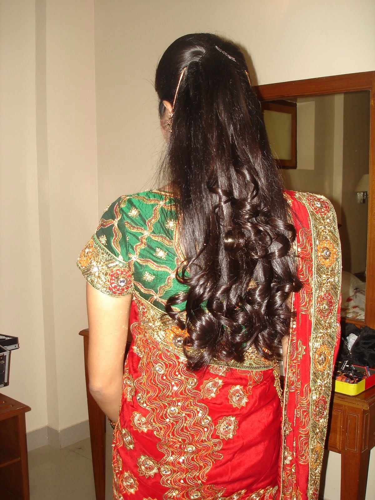 Well Known North Indian Wedding Hairstyles For Long Hair With Regard To Indian Wedding Reception Hairstyles New North Indian Bridal (View 5 of 15)