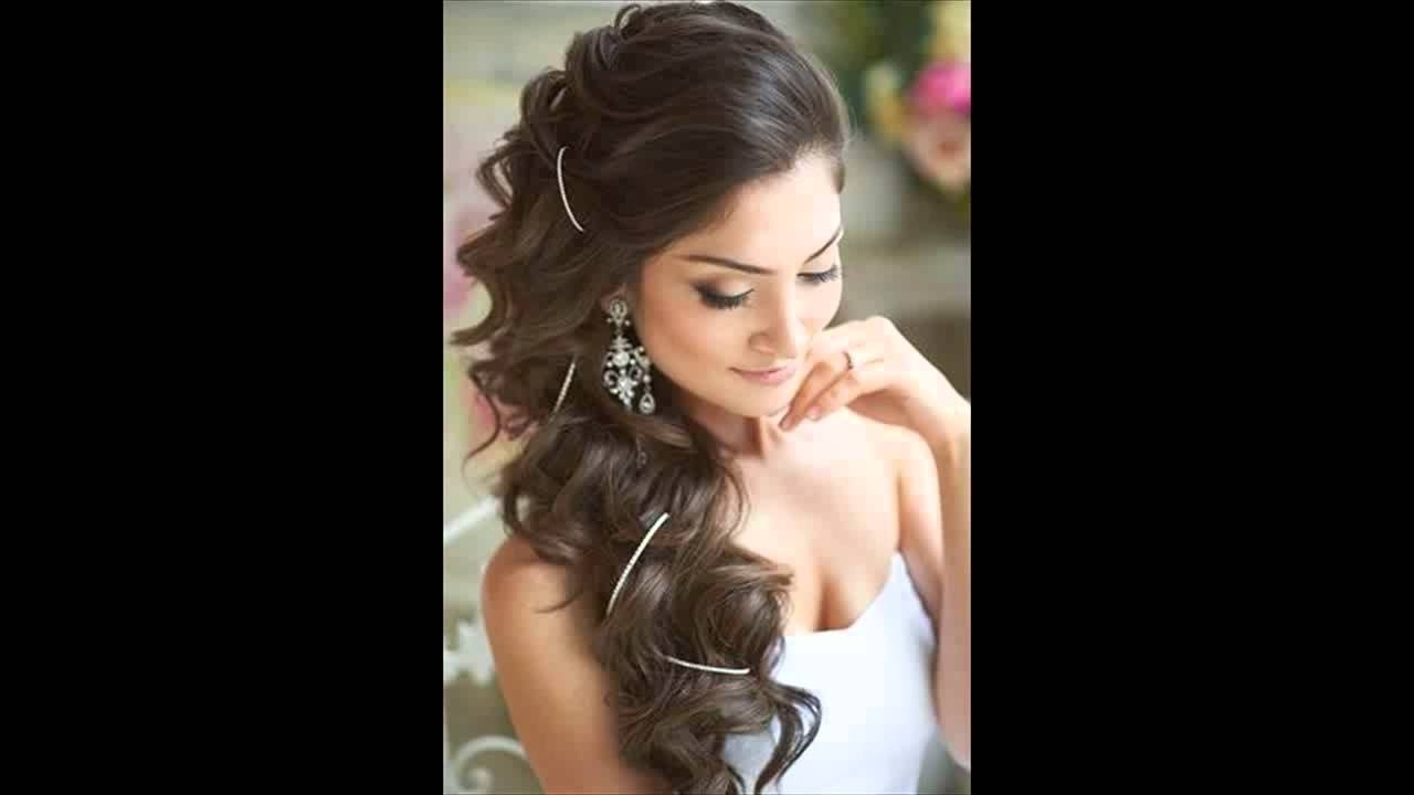 Well Known One Side Up Wedding Hairstyles Within Bridal Hair One Side 12 One Side Wedding Celebration Hairstyles (View 15 of 15)
