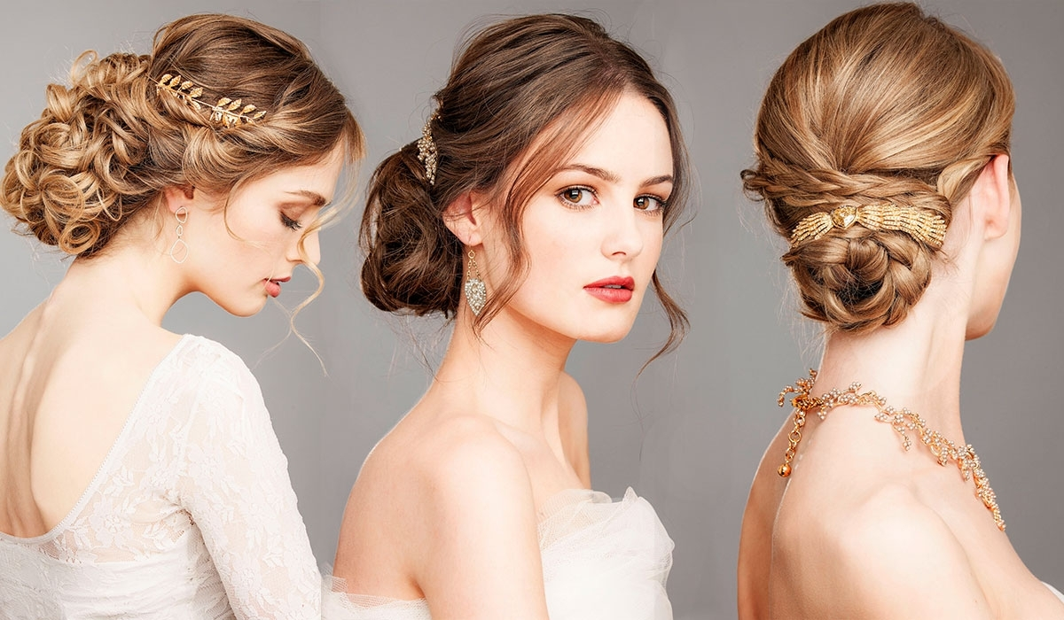 Well Known Outdoor Wedding Hairstyles For Bridesmaids For These Are The Most Popular Wedding Hairstyles For (View 8 of 15)
