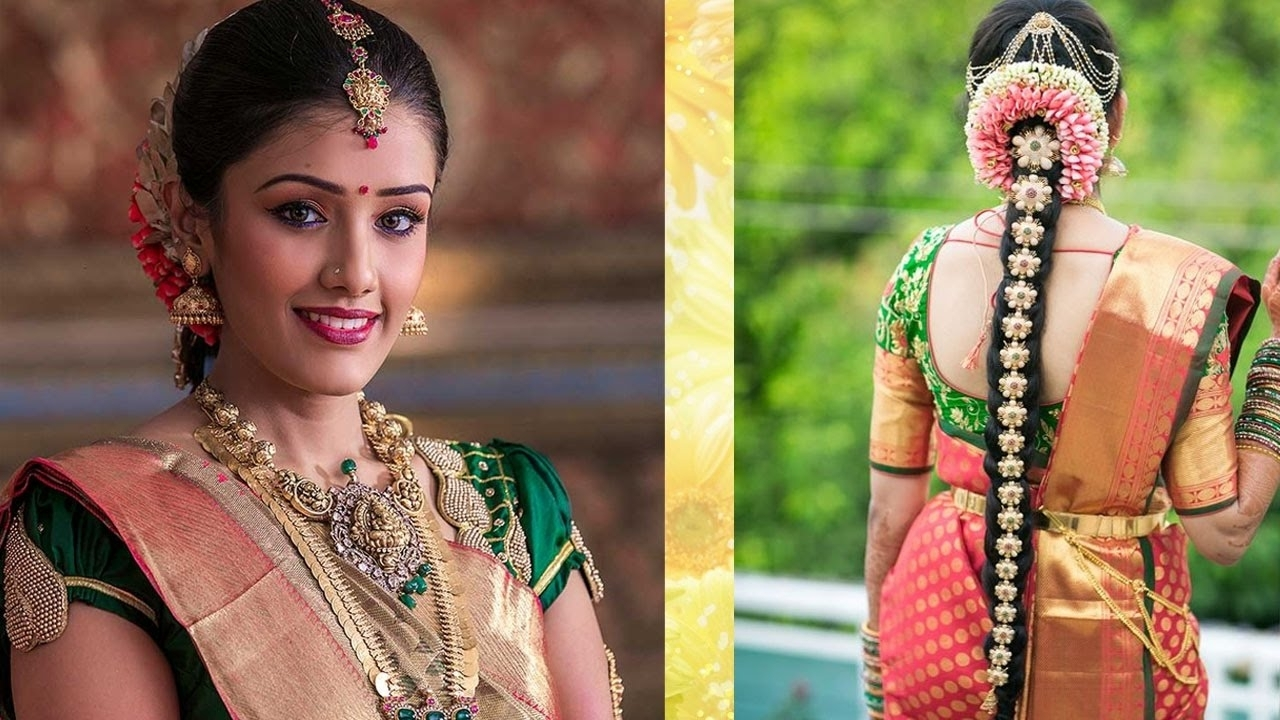 Featured Photo of South Indian Tamil Bridal Wedding Hairstyles