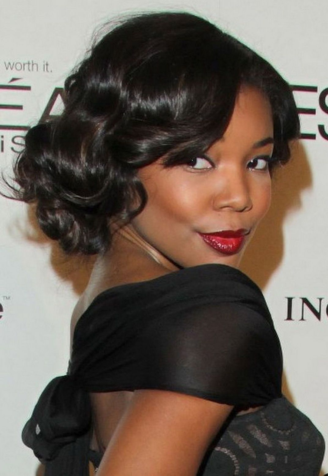 Well Known Updos African American Wedding Hairstyles With Regard To Black Updo Hairstyle (View 13 of 15)