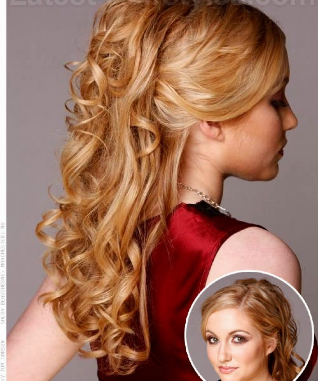 Well Known Wedding Guest Hairstyles For Long Straight Hair In Lovely Promtyles Long Hair For Your Ideas With Formal Semi Straight (View 11 of 15)