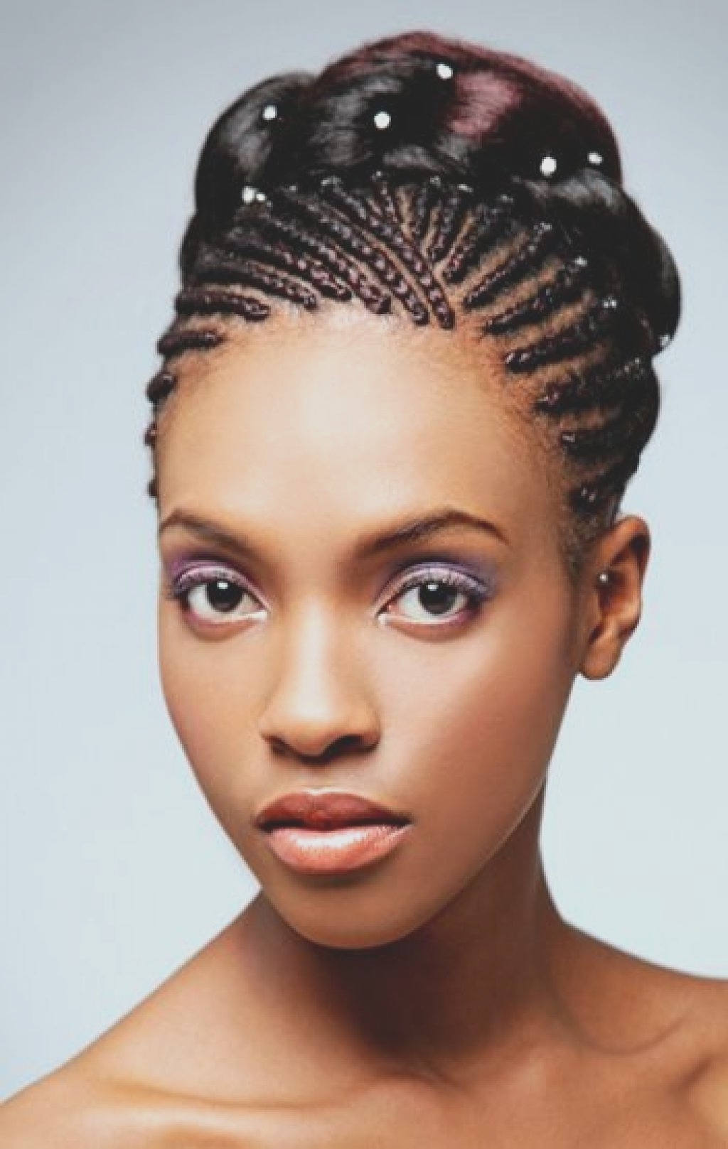 Well Known Wedding Hairstyles For African Hair In Wedding Hairstyles Black Women (View 14 of 15)