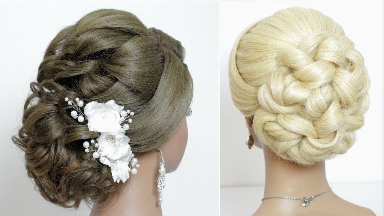 Well Known Wedding Hairstyles For Bridesmaids With Long Hair Throughout 2 Wedding Hairstyles For Long Hair Tutorial (View 15 of 15)