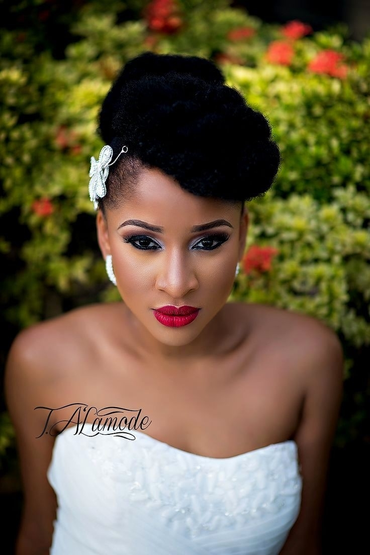 Well Known Wedding Hairstyles For Ethnic Hair For Stirring Wedding Hairstyles For Black Brides Bridesmaids Nice (View 14 of 15)