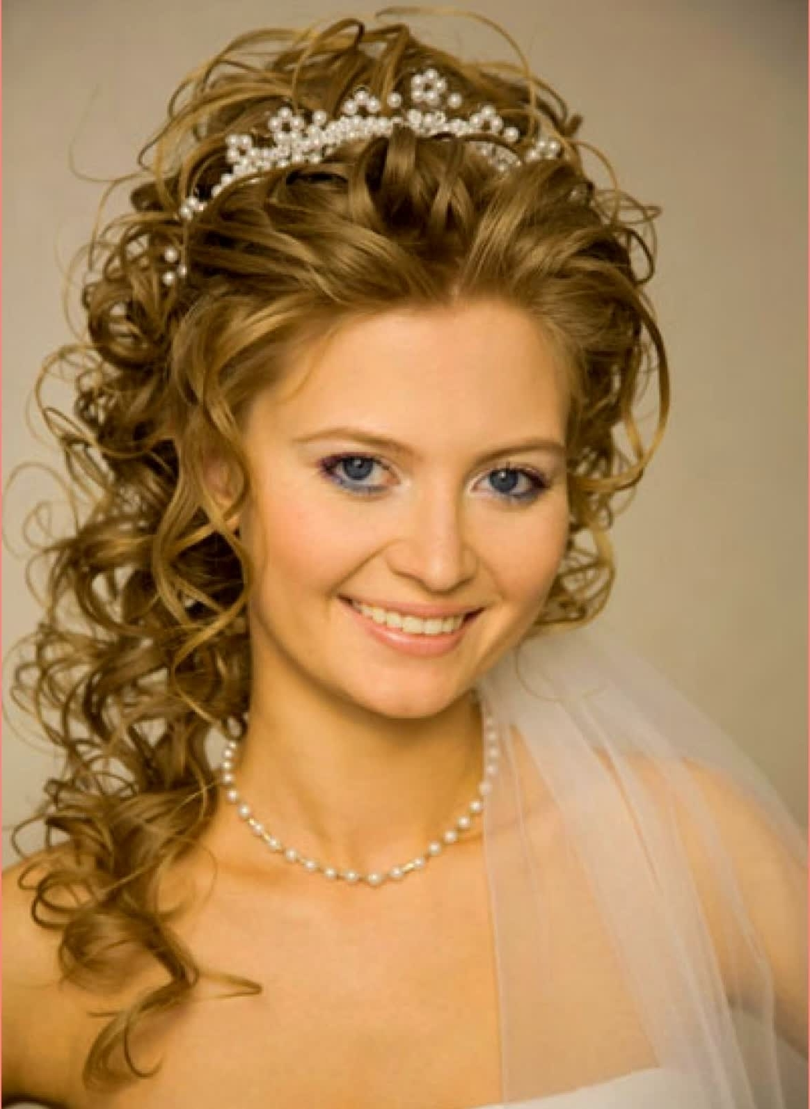 Well Known Wedding Hairstyles For Long Hair With A Tiara Pertaining To Awesome Hairstyles Wedding Hairstyles Long Hair With Veils And (View 14 of 15)