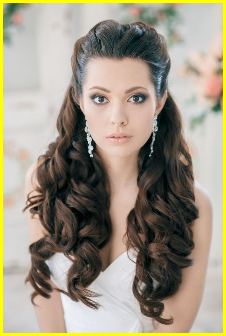 Well Known Wedding Hairstyles For Long Relaxed Hair With Astonishing Attending Curly Updo Hairstyles Can Be A Disaster If You (View 4 of 15)