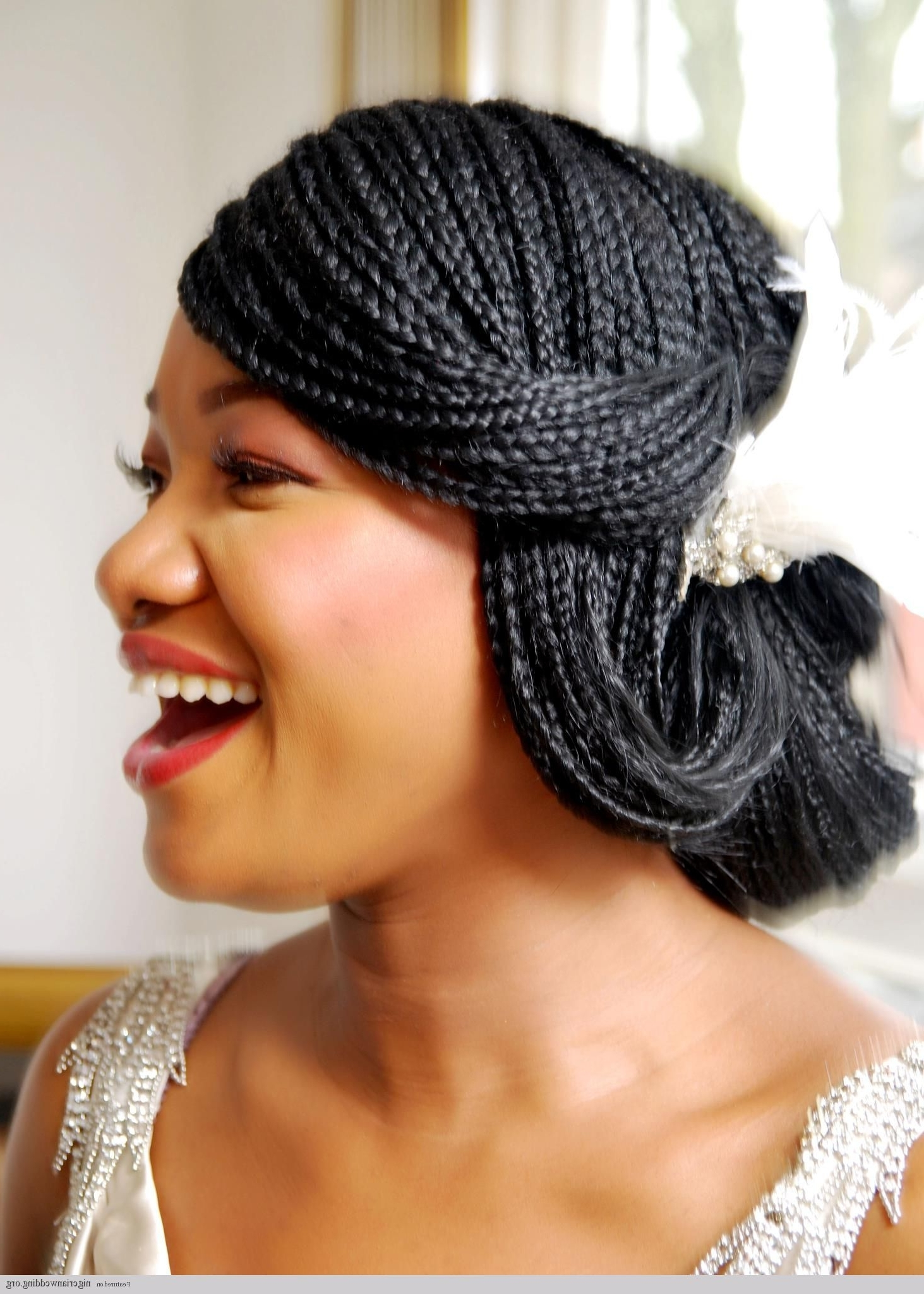 Well Known Wedding Hairstyles For Nigerian Brides Within 25 Gorgeous Bridal Hairstyles For Nigerian Bridesthe Very (View 15 of 15)
