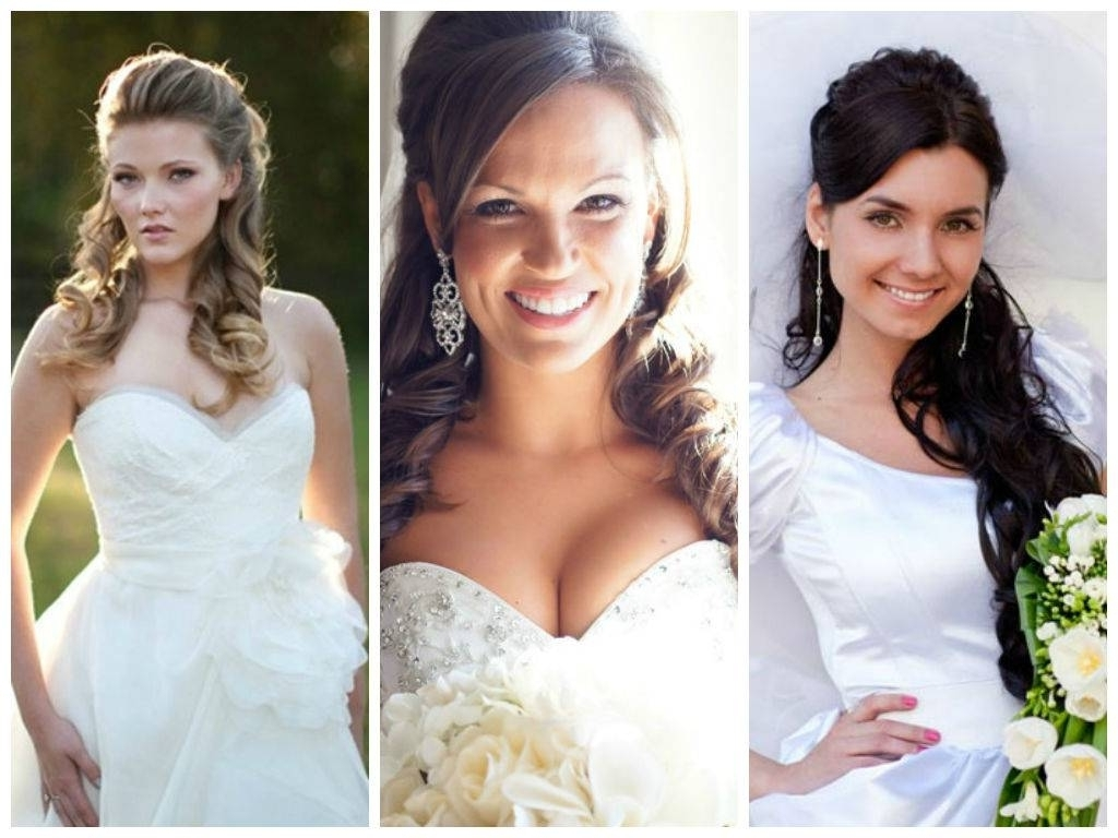Well Known Wedding Hairstyles For Round Shaped Faces Pertaining To Wedding Hairstyles For A Round Face Shape Hair World Magazine (View 12 of 15)